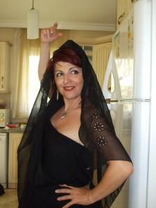 Carina v kostume flamenco
