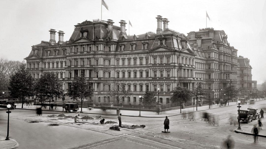 Washington circa 1917.