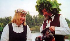 Праздник Лиго в Латвии