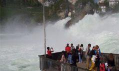 Швейцария. Рейнский водопад